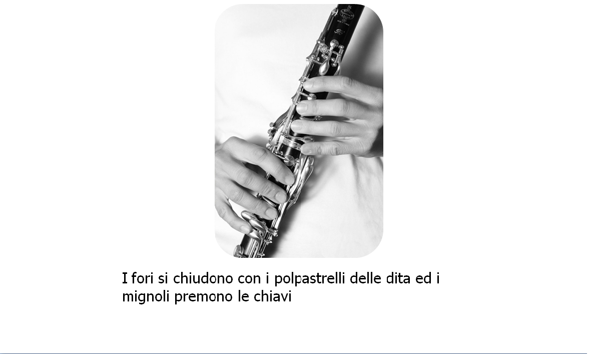 clarinetto come si impugna
